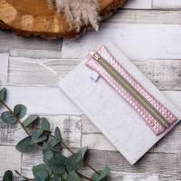 """Stifte-Etui """"Rosapyramiden"""" mit Gummi für deinen Organizer oder Kalender  Bild 1"""