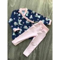 süßes Set bestehend aus Shirt mit passender Legging, Gr. 74 Bild 1