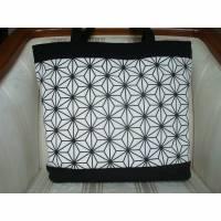 Shopper    Einkaufstasche    Schultertasche    Shopping Bag   mit Reißverschluss Bild 1