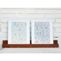 Regal, Wohndeko, Bilderhalter, Bilderleiste aus Holz, Altholz, Regal aus Holz, Wanddeko,Upcycling Bild 1