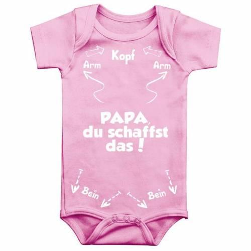 Baby Body kurzarm mit einfarbigen Print