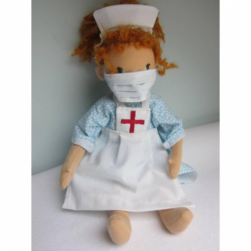 Super Alltags-Heldin Ginger Puppe Original, 40 cm Küntlerpuppe, Krankenschwester, Super Hero, Waldorf Bild 1