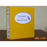Freundebuch nach Maß | Freundealbum mit Namen und Wunschmotiv Bild 1