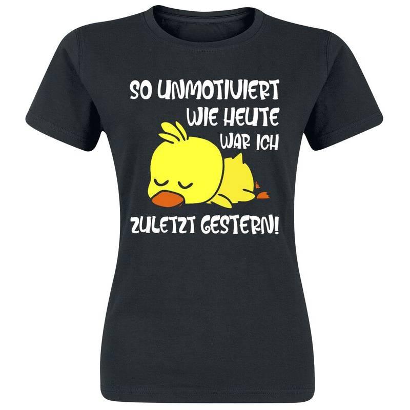 T-Shirt kurzam mit mehrfarbigen Print Bild 1