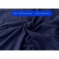 Bio Hanfjersey – marineblau (Vegane Alternative zu Wolle-Seide) Bild 1
