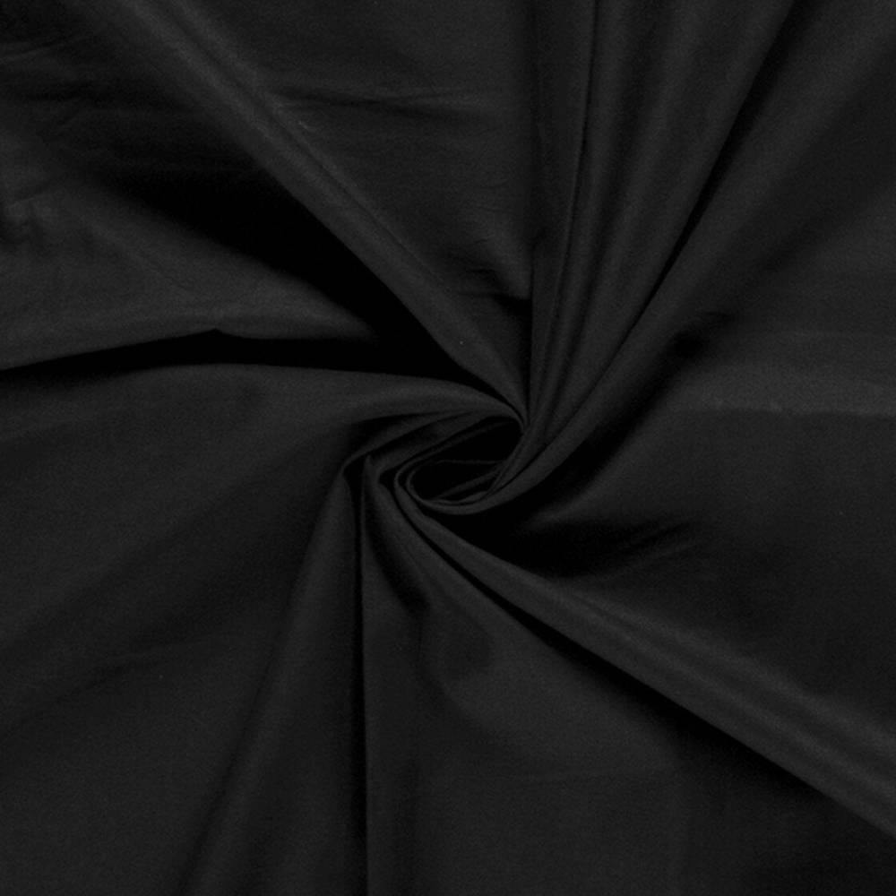Baumwolle Uni schwarz -Kochfest- für Mundbedeckungen Meterware Öko-Tex Standard 100 zertifiziert 140 cm Stoffbreite Bild 1