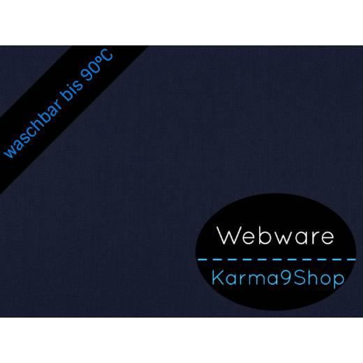 0,5m Webware dunkelblau Bild 1
