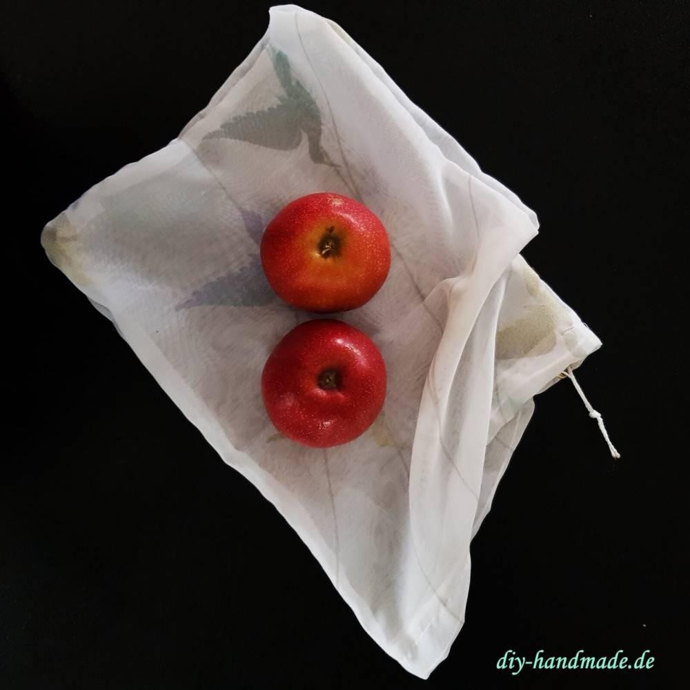 Obstsäckchen, Obstbeutel für Obst und Gemüse Aufbewahrung Küchenhelfer Bild 1