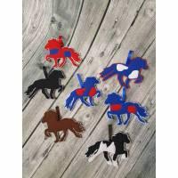 Anhänger Isländer, Filzanhänger, Pferde, Anhänger aus Filz, Tölter 4,50 Euro pro Pferd Bild 1