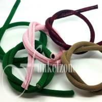 PVC Schnur | ummantelt | Ø 7mm | L: 40cm | Schmuckherstellung | DIY | FARBWAHL Bild 1