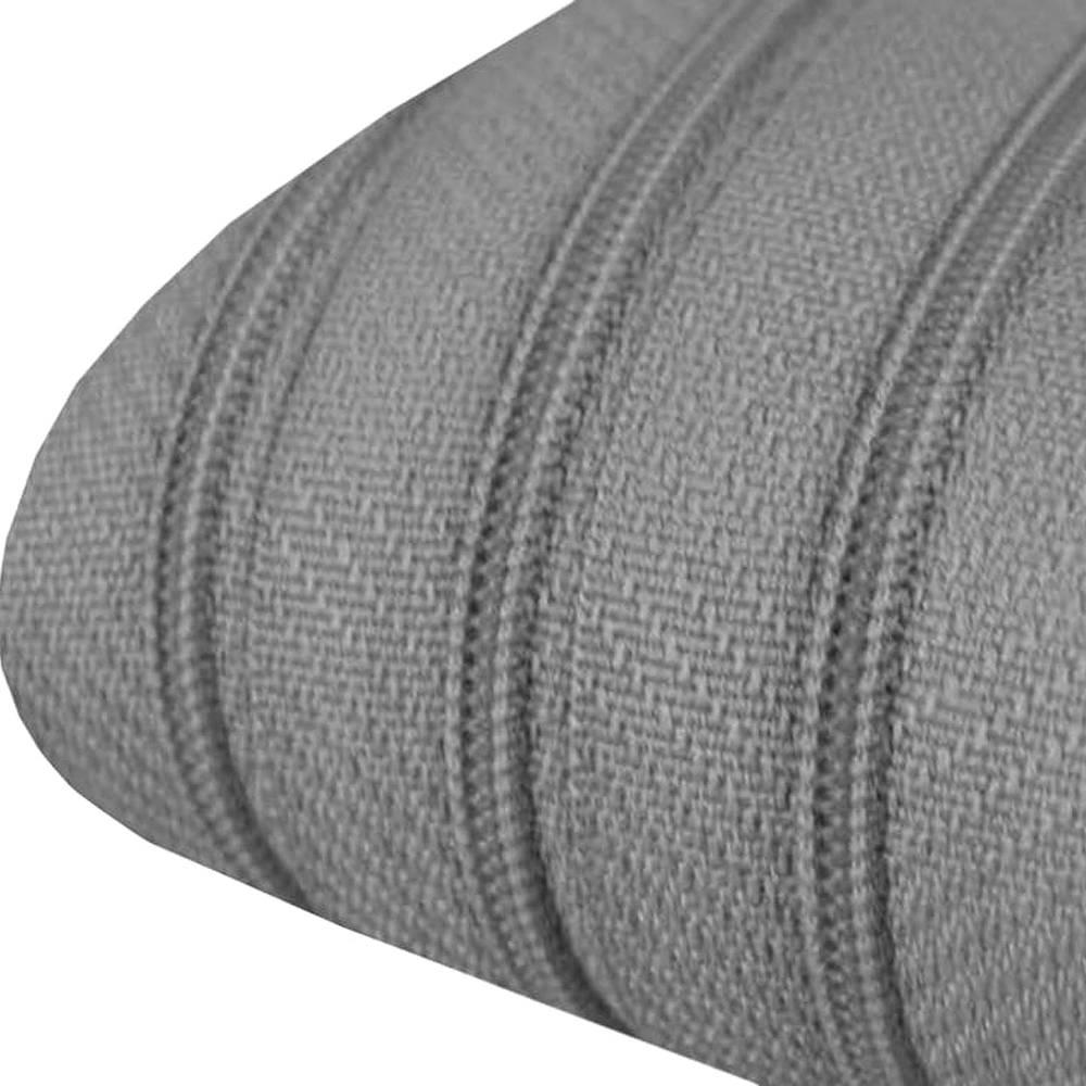 Reißverschluss-Meterware 3 mm inkl. 3 Zipper grau endlos-Reissverschluss Bild 1