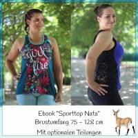 "Ebook ""Sporttop Nata"" Brustumfang 75-128 cm Bild 1"