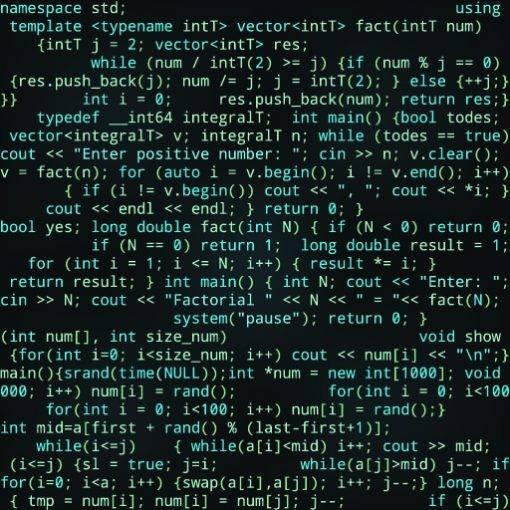 Baumwolljersey Nerd Computerschrift hellgrün türkis schwarz für Jungs und Männerstoffe made in EU  Bild 1