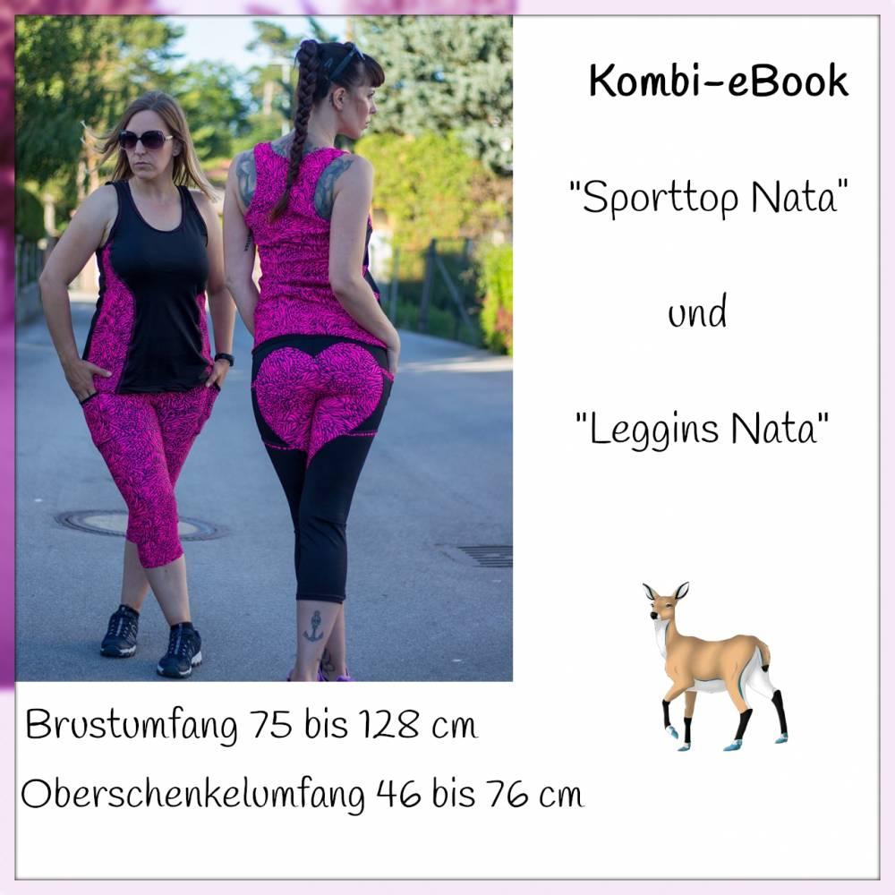 """Kombi-eBook """"Sporttop Nata"""" und """"Leggins Nata"""" Bild 1"""