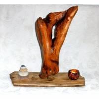 Treibholz Skulptur Holzdeko nachhaltiges Unikat