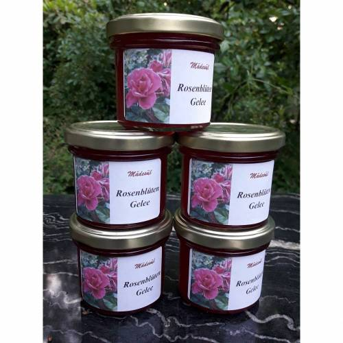 Rosenblüten-Gelee
