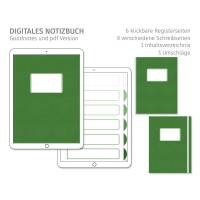 Digitales Notizbuch, einfach und minimalistisch, für Goodnotes, 6 Register Bild 1