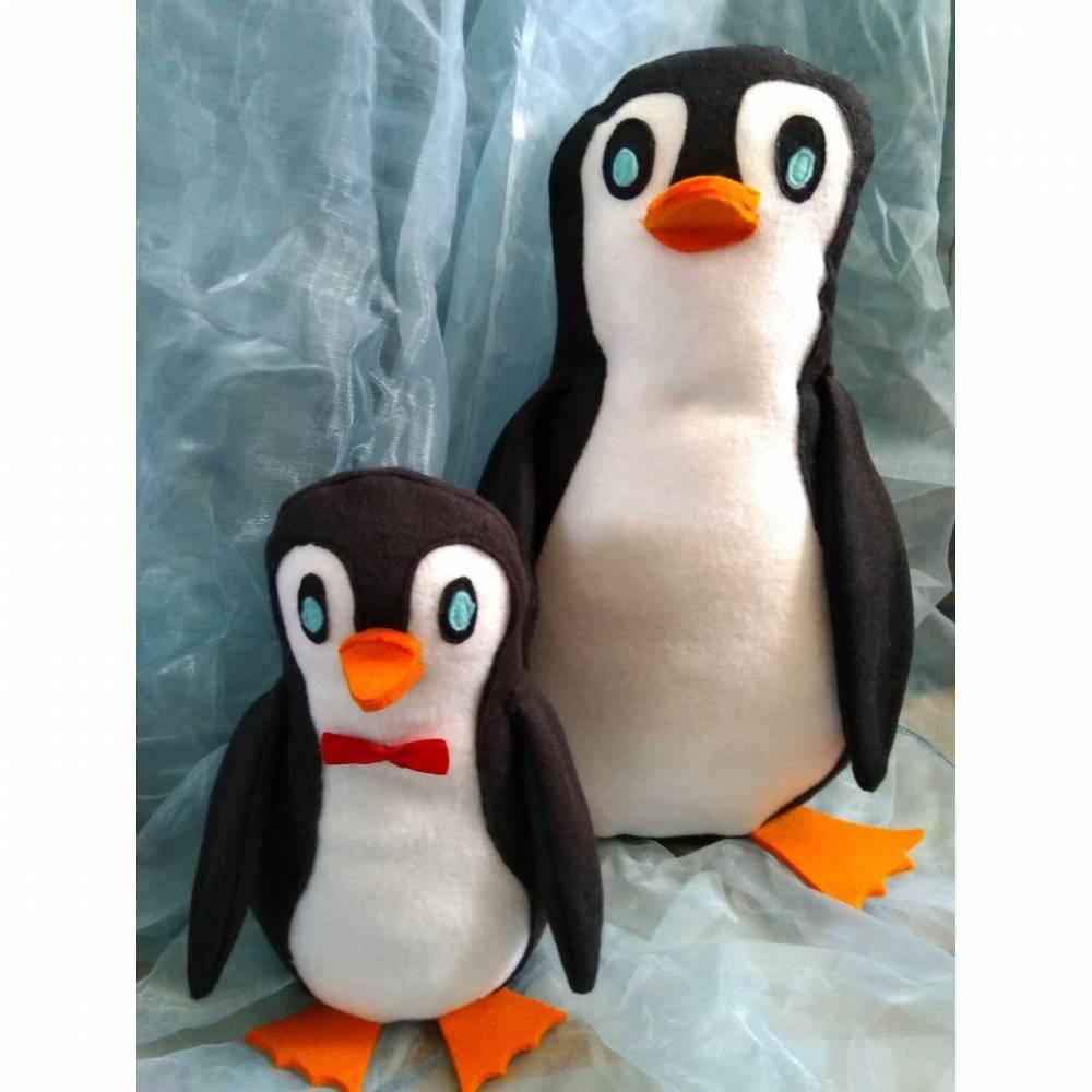 Tierische Türstopper - Fred Pinguin Schnittmuster-Freebie Bild 1