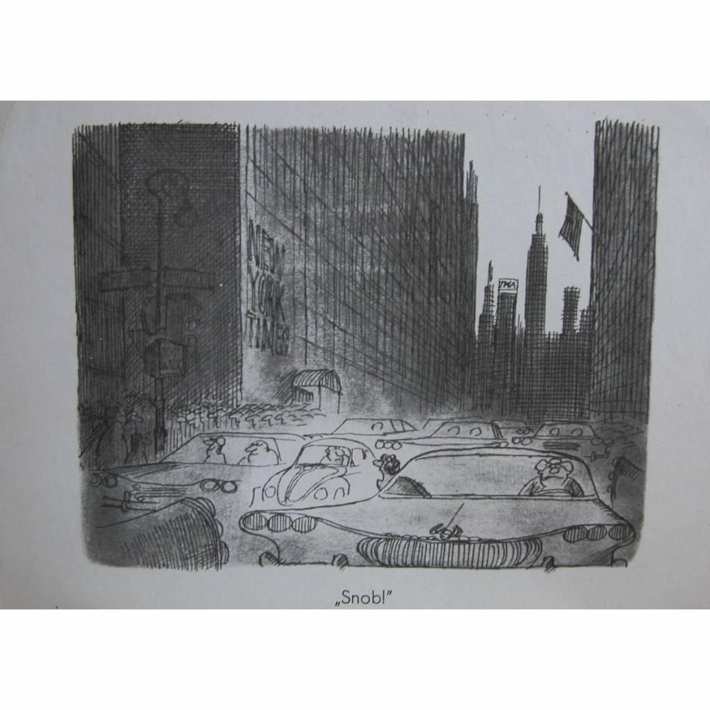 """Postkarte aus der Serie """" Spaß am VW """" Bild 1"""