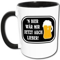 Bier Spruch Tasse, Lustige Geschenke für Männer, Geschenkidee Biertrinker Bild 1