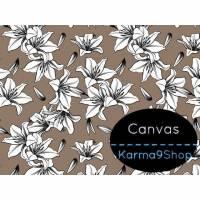 0,5m Canvas Lily sand Bild 1