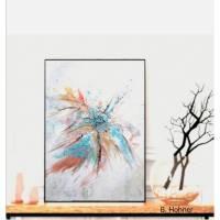 Acrylgemälde pastell- abstract 50x60cm Bild 1