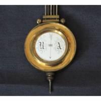 Vintage Uhrenpendel mit Emaille Bild 1