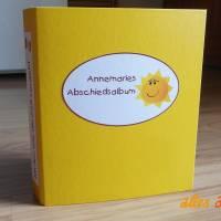 Abschiedsalbum für Kindergarten   personalisiert Bild 1