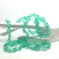 Glasperlen | Splitter | grün | DIY Schmuckbasteln | Dekoration | Auswahl | 17g Dose Bild 1