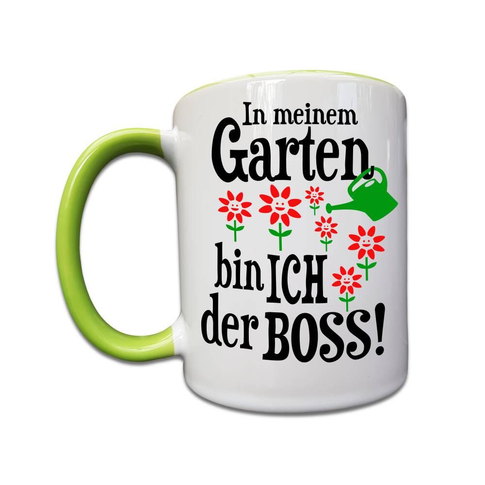 Hobbygärtner Tasse mit Spruch, Garten Geschenk, Gärtnern Sprüche Bild 1