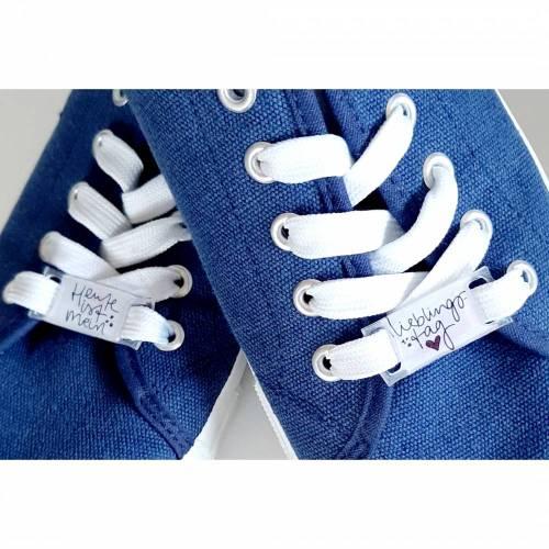 Schuhband-Tag für ein paar schuhe- Lieblingstag