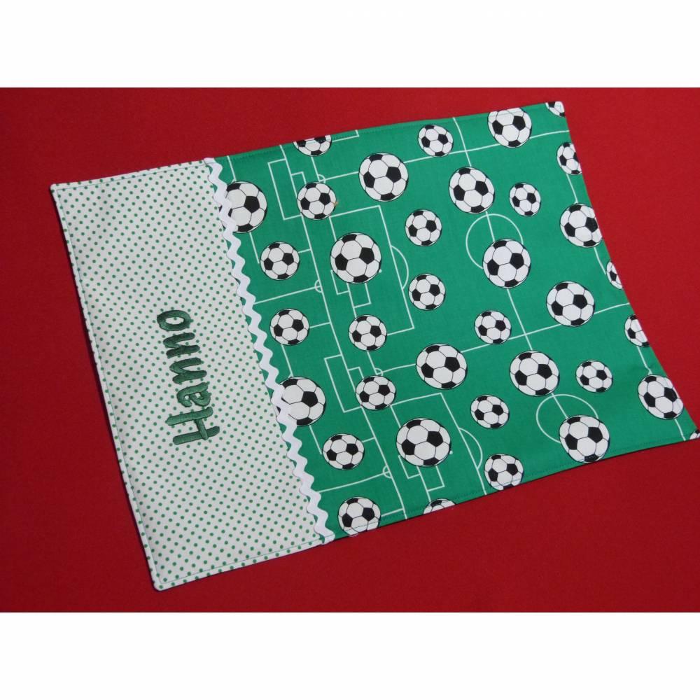 Platzset Fußball mit Wunschnamen Bild 1