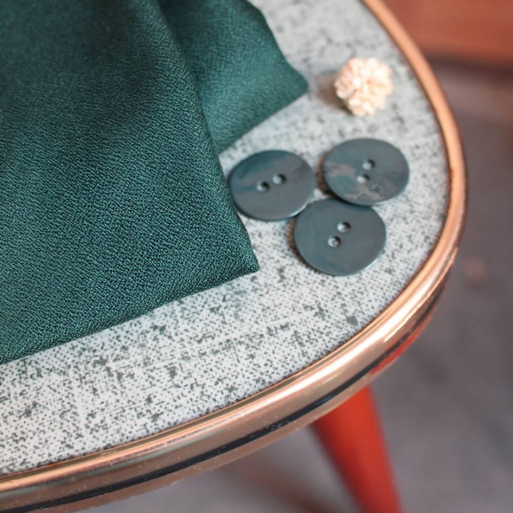 Viskose Crepe Forrest dunkelgrün by Atelier Brunette 0,5m  Bild 1
