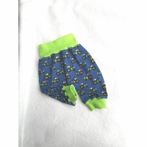 """Kurze Pumphose Shorts ,, Trecker """" in den Gr 50/56 bis 122 aus Jersey"""