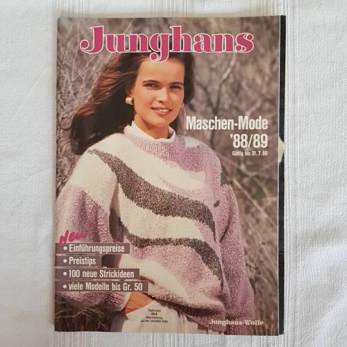 Vintage Junghans 88/89 Maschenmode, Vorschläge zum Stricken und Häkeln auch bis Größe 50