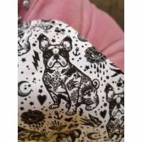 Behelfsmaske, Gesichtsmaske vintage Schwalbe Bulldogge , Nasen-Mund-Bedeckung , Maske, snutenpulli,  Bild 1