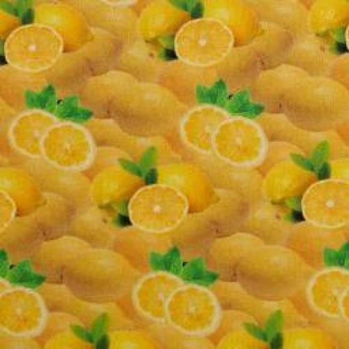 Baumwolle Baumwollstoff Popeline Zitrone Yummy Food by Swafing Oeko-Tex Standard 100 (1m/9 ,-€)