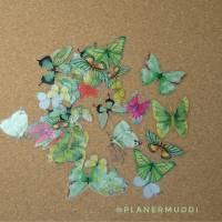 "Sticker-Set ""Butterfly"" 4, 20-teilig"