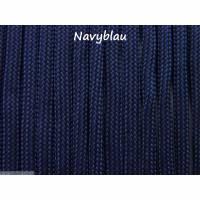 Fallschirmschnur Fallschirmleine Parachute cord 4mm dick 2 Meter lang Farbe Navyblau Bild 1
