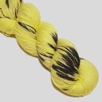 Sockenwolle Handgefärbt Bamboo Bild 1
