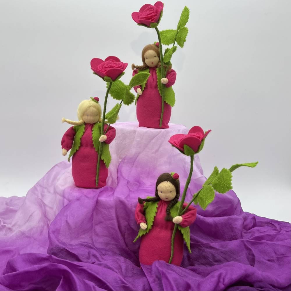 Rose -  Jahreszeitentisch - Blumenkind - Sommer Bild 1