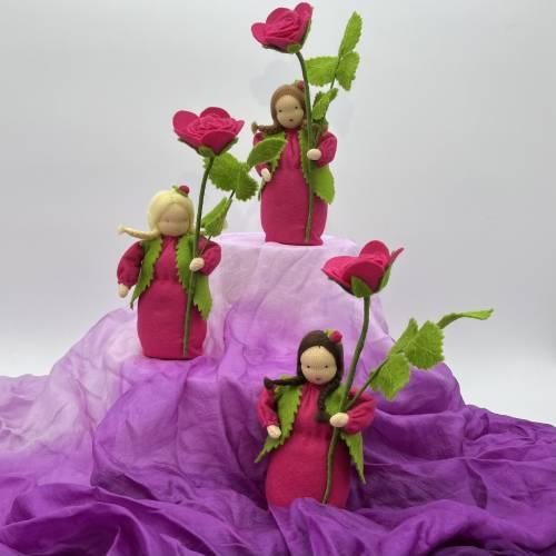 Rose -  Jahreszeitentisch - Blumenkind - Sommer