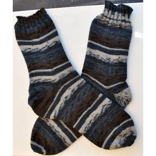 handgestrickte Socken 46/47 Bild 1