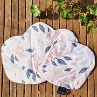 4er Set wiederverwendbare, waschbare Stoffbinden für Alternative zero waste Monatshygiene oder bei Inkontinenz Bild 3