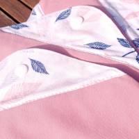 4er Set wiederverwendbare, waschbare Stoffbinden für Alternative zero waste Monatshygiene oder bei Inkontinenz Bild 5