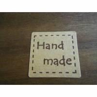 20 Sticker Handmade   Aufkleber Etiketten  selbstklebend,  Bild 1