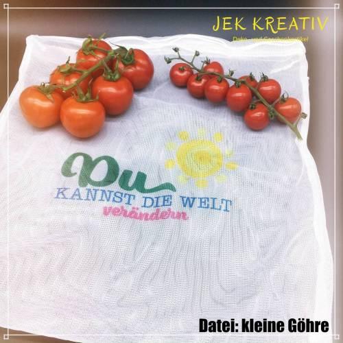 Obstbeutel, Gemüsebeutel, Obstnetz, Gemüsenetz, Obstsäckchen, Einkaufsbeutel, Umweltverpackung, Netzbeutel, Netze
