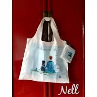 """Einkaufstasche/Shoppingbag     """"Gib dem Menschen einen Hund und seine Seele wird gesund"""" Bild 1"""