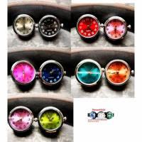 SALE! Druckknopf, Druckknöpfe, Button, Druckknopfbutton,Gr. L, Uhren, Farbauswahl Bild 1