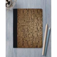 Schreibmappe Hieroglyphen / Dokumentenmappe / Konferenzmappe A5 A4 mit Schreibblock Bild 1